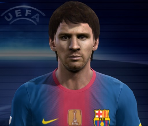 Leo Messi PES 2012