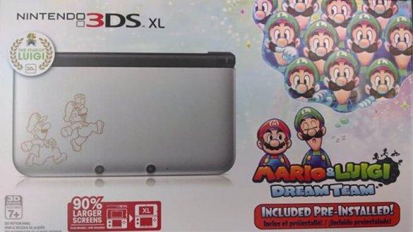 Pack 3DS XL más Mario y Luigi Dream Team