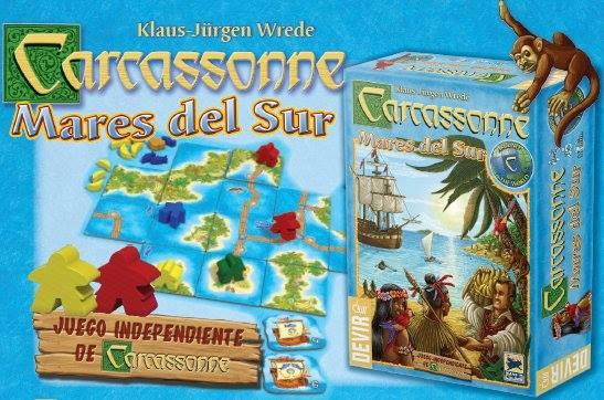 Carcassonne Mares del Sur Devir