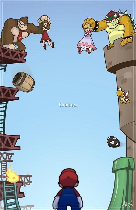 Humor de Super Mario