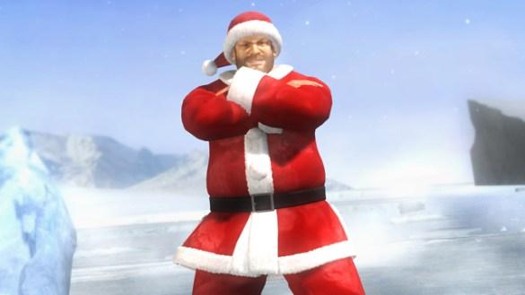 Papá Noel en Dead or Alive