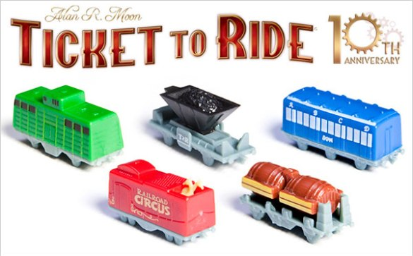 Aventureros al Tren 10 Aniversario Trenes