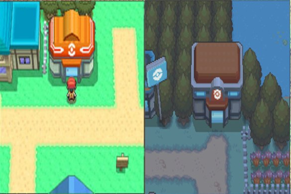 Centro Pokemon cuarta generacion