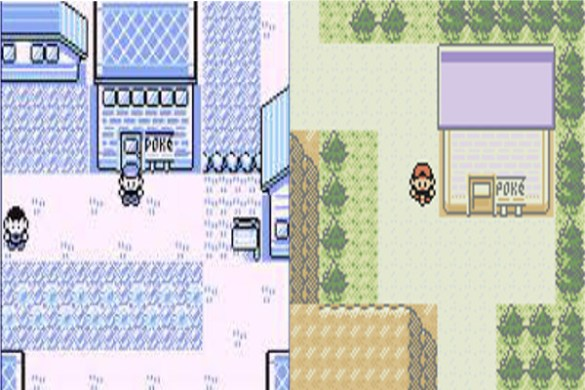 Centro Pokemon primera y segunda generacion