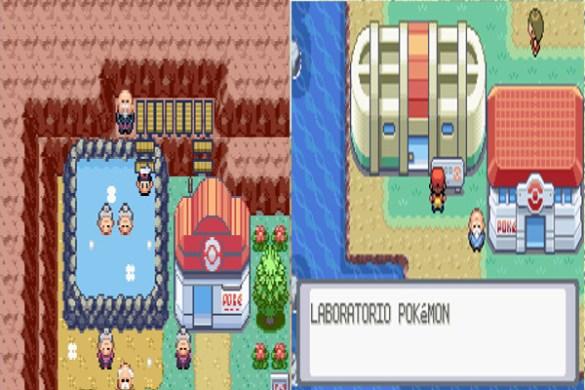 Centro Pokemon tercera generacion