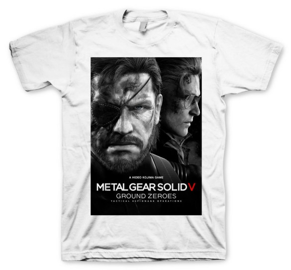 Camiseta Metal Gear Solid V Ground Zeroes