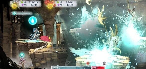 Child of Light Combates