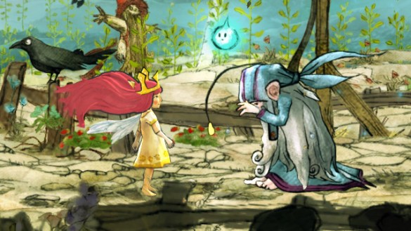 Child of Light Personajes