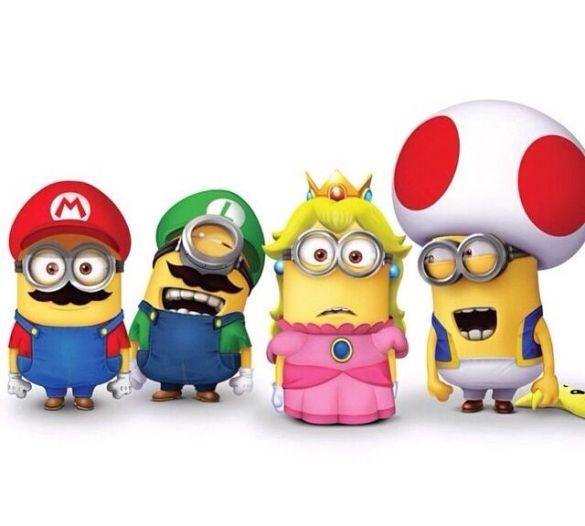 Minion  Super Mario