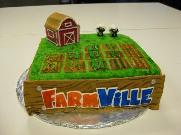 Tarta Farm Ville