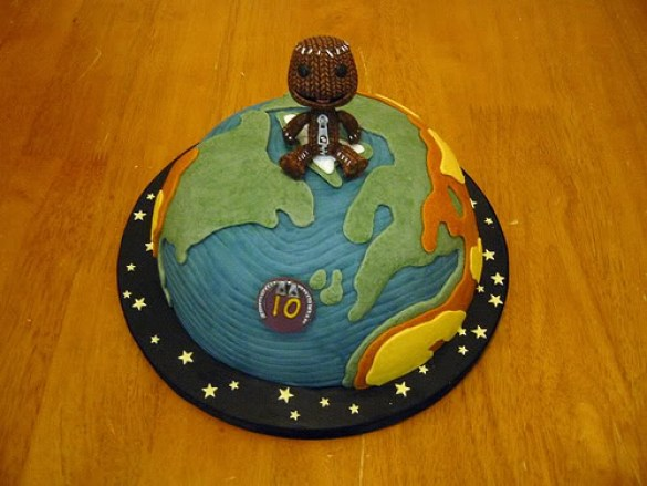 Tarta Little Big Planet