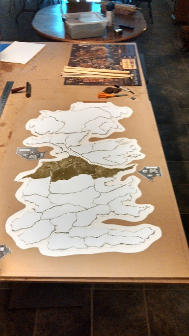 3D Game of Thrones Board Game
