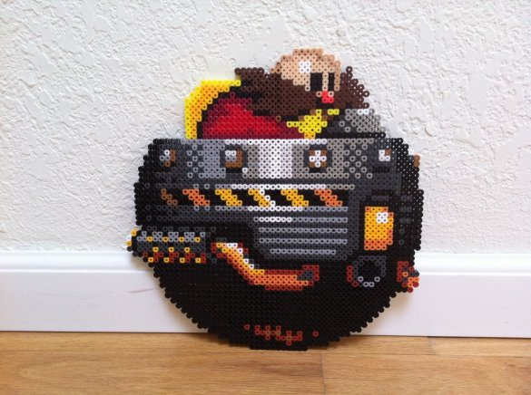 Hama Beads Eggman