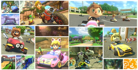 Mario Kart 8 Nuevos personajes