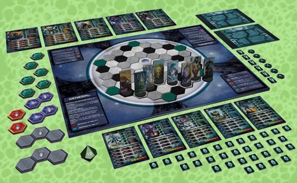 Apocalypse Galactic Arena Board Game