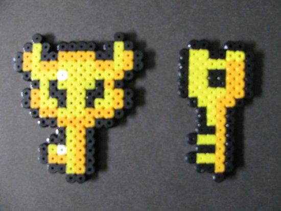 Hama Beads Llave Zelda