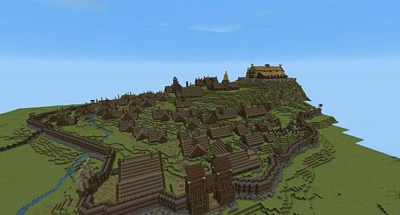 Edoras  Minecraft