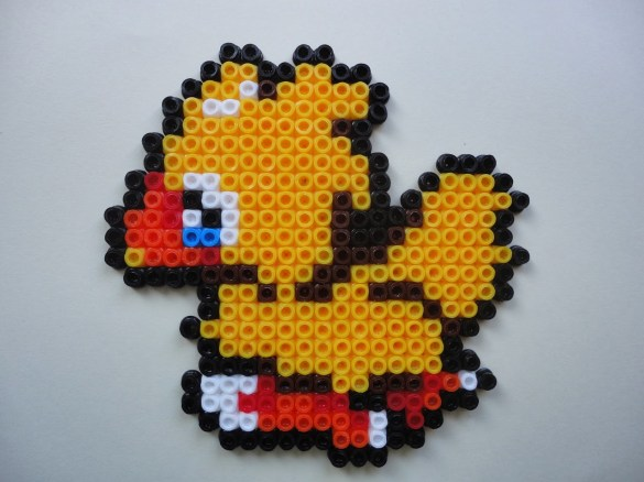 Hama beads Final Fantasy Chocobo