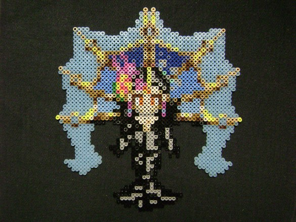 Hama beads Final Fantasy Edea