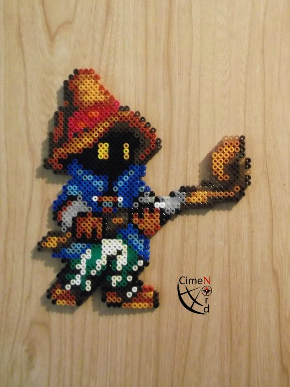 Hama beads Final Fantasy Vivi