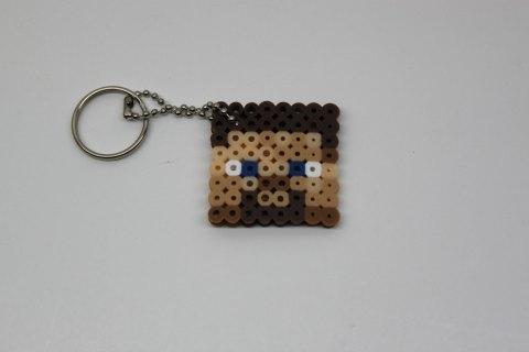 Hama Beads de Minecraft Cara humana