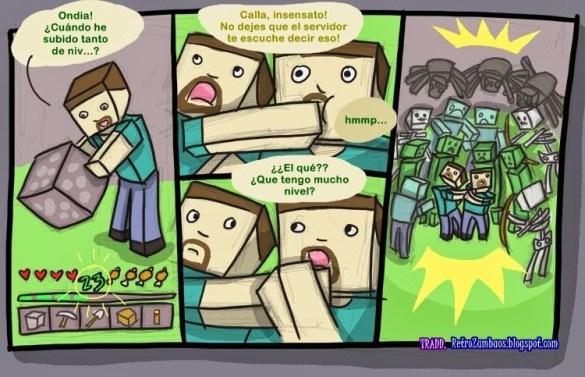 Humor Minecraft 4