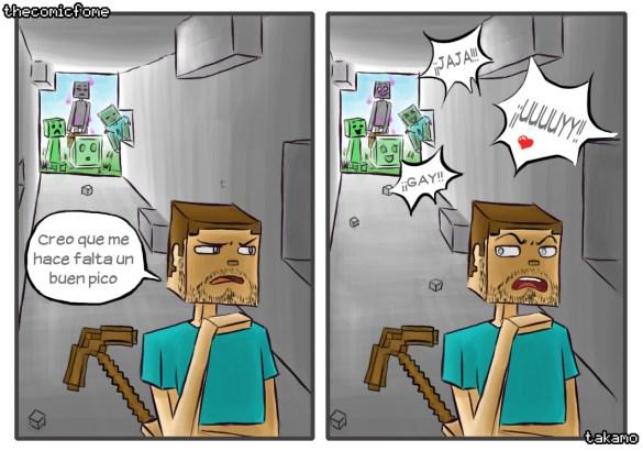 Humor Minecraft 5
