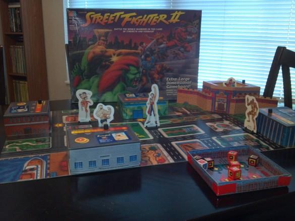 Juego de Mesa Street Fighter