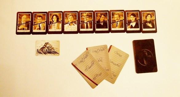 Cartas de asesino y cartas de indicio.