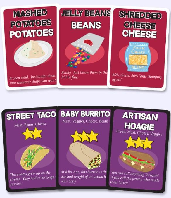 Foodtown Throwdown card game