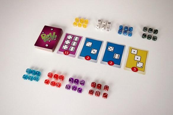 Preparación de una partida para 8 jugadores.