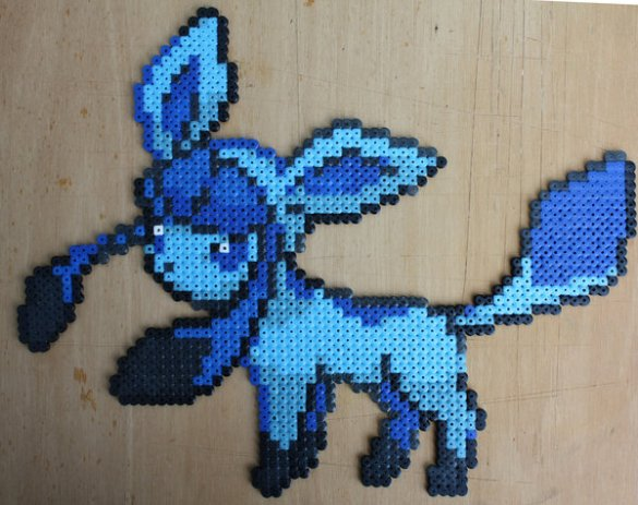 Hama Beads Glaceon