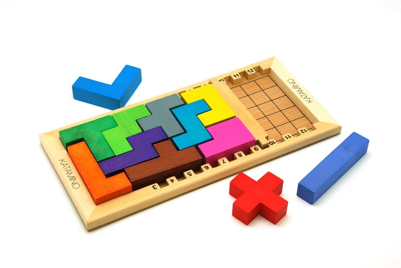 Katamino Un Rompecabezas Al Estilo Tetris Para Uno Y Dos Jugadores