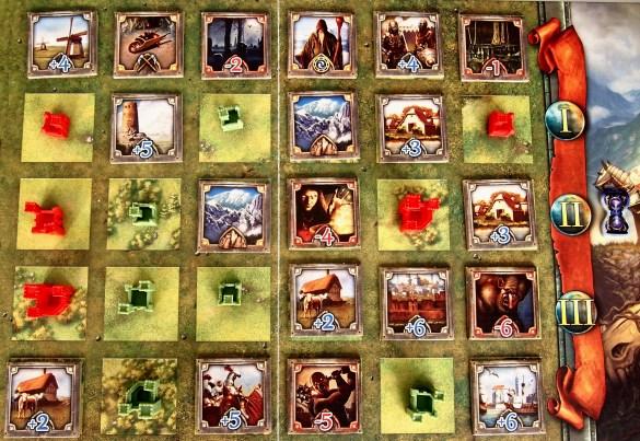 En las siguientes rondas se seguirá la misma mecánica de juego, pero los jugadores contarán con menos castillos.