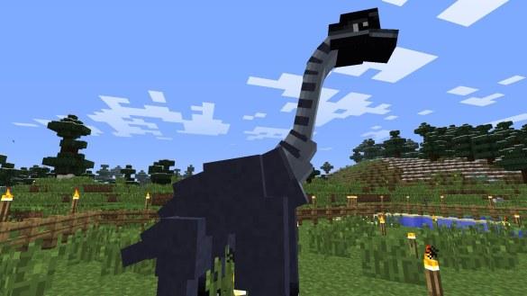 Jurassic Park Minecraft Dinosaurio