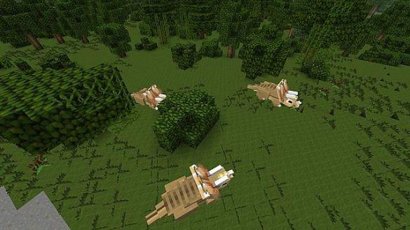 Jurassic Park Minecraft Triceratops