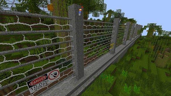 Jurassic Park Minecraft Valla