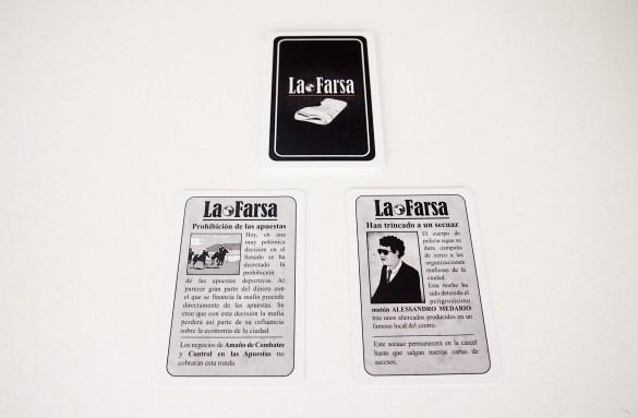 En la segunda fase se desvelan dos cartas de sucesos, que afectarán a todos los jugadores.