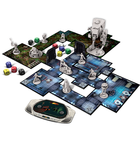 Star Wars Imperial Assault juego