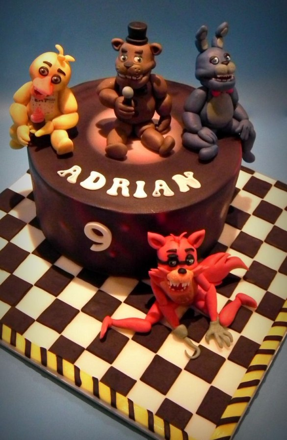 Tarta Five Nights at Freddy´s