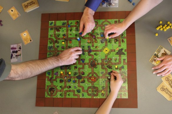 Five Minutes Delivery board game