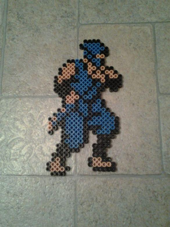 Hama Beads Ninja Gaiden