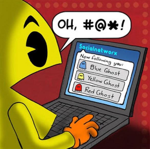Humor Videojuegos Pacman