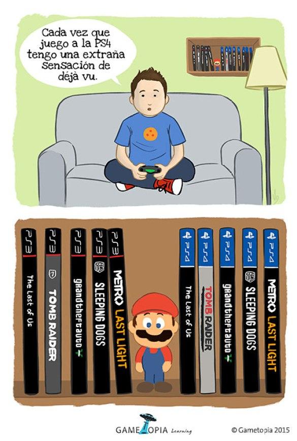 Humor Videojuegos PS4