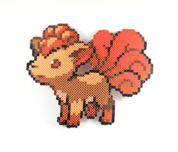 Hama Bead Pokemon Vulpix