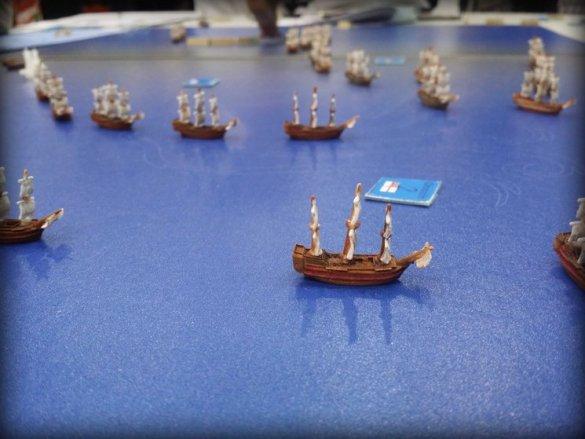 navios de linea batalla de trafalgar