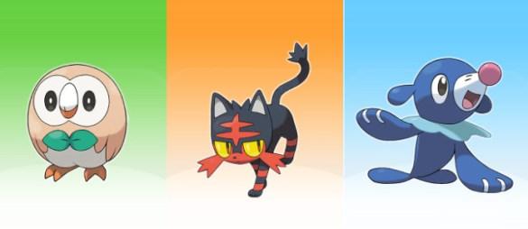 Pokemon Sol y Pokemon Luna