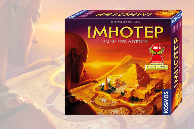 Así se juega a Imhotep, nominado como Mejor Juego de Mesa de 2016