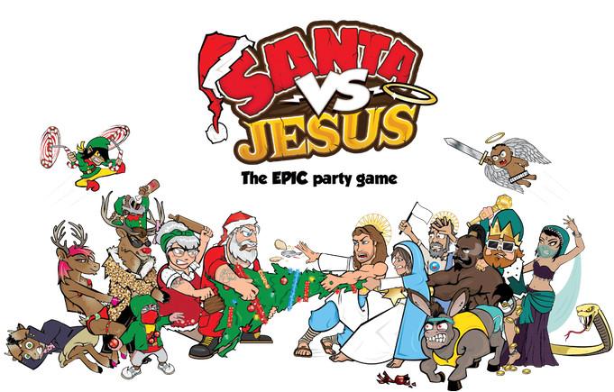 Santa VS Jesus juego