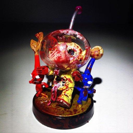 amiibo pikmin zombi